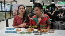 Throwback to when we stuffed our faces with something spicy, something chocolatey, something oozy, something durian-y and something Softee  Food Face-Off wil