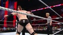 Roman Reigns & Dean Ambrose vs.  Sheamus & Rusev - Raw, January 25, 2016 - WWE Wrestling Fight Fighting Match Sports