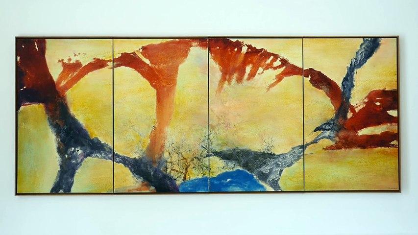 Exposition Zao Wou-Ki  : L'espace est silence | Musée d'Art Moderne