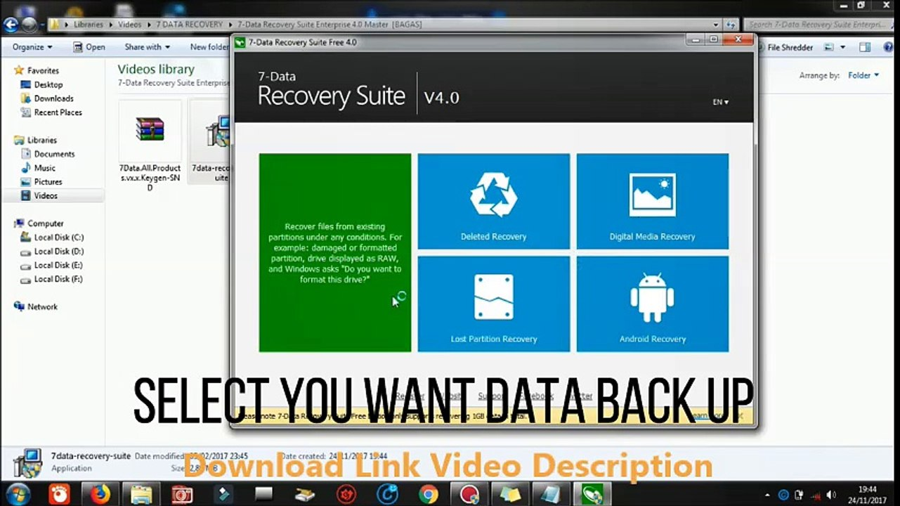 7 data recovery suite serial key free download
