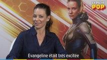 Interview d'Evangeline Lilly pour la sortie Interview de l'actrice Hannah John Kamen à l'occasion de la sortie du film d'Ant-Man et la Guêpe