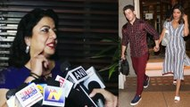 Priyanka Chopra's mother Madhu Chopra talks about Priyanka & Nick Jonas marriage | FilmiBeat