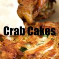 {NEW!} My awesome Crab Cakes recipe! ...Chunks of jumbo lump crab meat lightly fried until golden brown. [Click the photo] RECIPE BELOW - IN THE COM.MENTS: ➡️