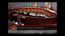 """Mark Sargent"" speaks at Albuquerque City Council meeting about NASA - Flat Earth ✅"