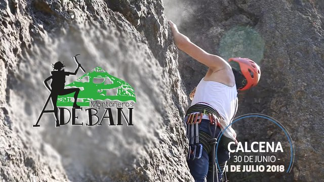 Adeban - Escalada en Calcena 2018
