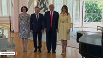Video Showing Melania Trump's Facial Expression After Shaking Putin's Hand Goes Viral