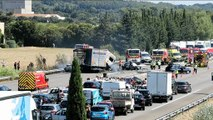 Vedène (Vaucluse) : 4 morts dans un grave accident sur l'A7