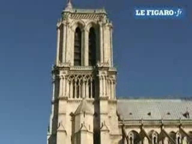 Campement Notre Dame 151207 le figaro