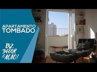 Decoração de Apartamento Tombado em SP - Luz, Decor & Ação!