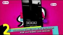 Thamara Gómez se une a la fiebre por Luis Miguel con estos videos.