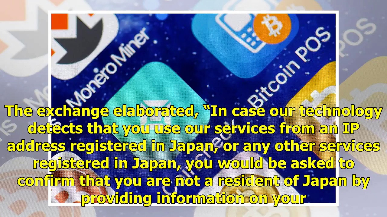 Cryptocurrency Exchange Hitbtc Suspends Services in Japan – Bitcoin News