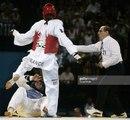 Mohamed Riad Ibrahim and Pascal Gentil Athens 2004 Taekwondo