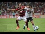 Flamengo 0 x 1 São Paulo (HD) Melhores Momentos (1º Tempo) Brasileirão 18/07/2018