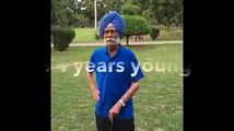 Attitude defines your age. This truly is incredible, Balbir Singh Sr. ji. Thank you so much for taking up the #KitUpChallenge and inspiring millions out there.
