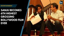 Sanju becomes 6th highest grossing Bollywood film ever