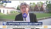 """""""Qu'ont fait Emmanuel Macron et Gérard Collomb?"""" Coquerel (LFI) s'interroge sur l'affaire Benalla"""