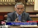 Verónika Mendoza instó a Vizcarra crear una comisión para investigar a involucrados en audios