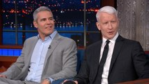 Andy Cohen Kept Texting Anderson Cooper During Trump's Helsinki Fiasco
