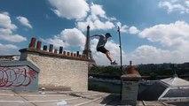 Parkour sur les toits de Paris (POV)