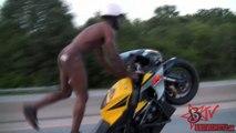 Police Chase Motorcycle Stunt Riders - Street Bike Stunts & Accidents - Blox Starz Vol 2