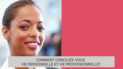 Khady Dior Ndiaye - Concilier vie professionnelle et vie personnelle
