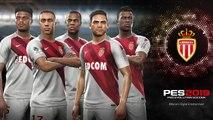 PES 2019 - Partenariat avec l'AS Monaco