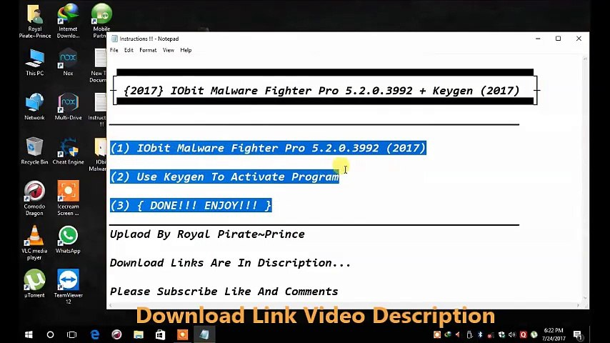 IObit Malware Fighter Pro 6 0 2 4612 Serial Key