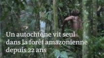 Cet autochtone vit seul dans la forêt amazonienne depuis 22 ans