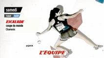 Retour en vidéo sur la Coupe du monde de Chamonix - Adrénaline - Escalade