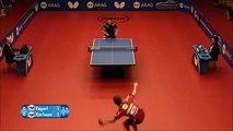 Un point incroyable au tennis de table : juste FOU