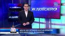 Cinco detenidos y tres motos recuperadas es el saldo de una mega operativo realizado en Guayaquil
