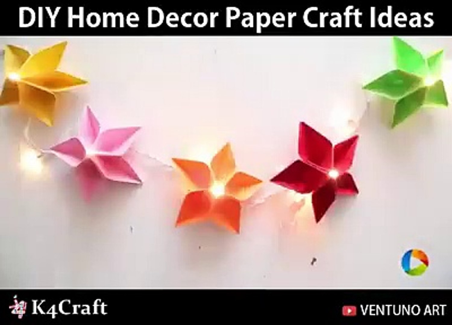 Diy Home Decor Paper Craft Ideas Via Art All The Way Dailymotion Video