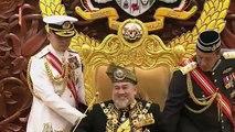 #Parlimen Yang Dipertuan Agong, Sultan Muhammad V menyampaikan titah ucapan perasmian Istiadat Pembukaan Mesyuarat Penggal Pertama Parlimen Ke-14 di Dewan Rakya