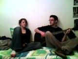 Ben & moi un après midi guitare