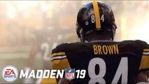 Madden NFL 19 – Trailer Antonio Brown Cover
