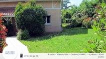 A louer - Maison/villa - Ondres (40440) - 4 pièces - 93m²