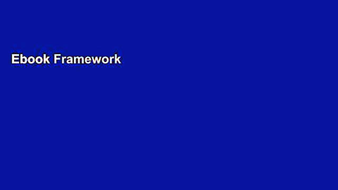 Ebook Framework for Marketing Management Full