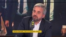 """Affaire Benalla : """"Si l'affaire met autant de temps à avoir toute la lumière, c'est que je pense que, quand même, il y a une volonté d'étouffer"""", juge Alexis Corbière #8h30politique"""