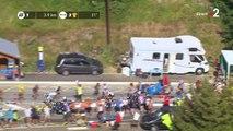 Tour de France 2018 : Vincenzo Nibali fait une lourde chute