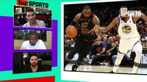 Is LeBron James trying to recruit Kevin Durant to join the Lakers? | TMZ SPORTS