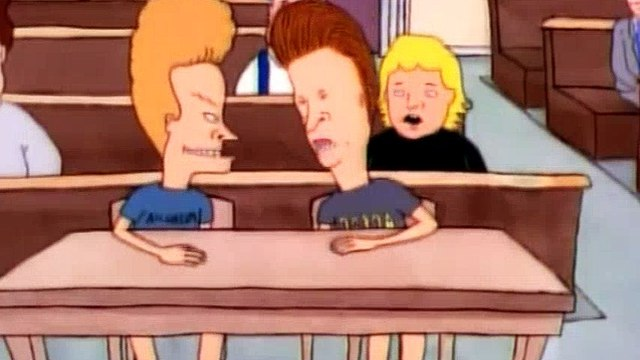 Beavis and Butt-Head S03E23 - The Trial