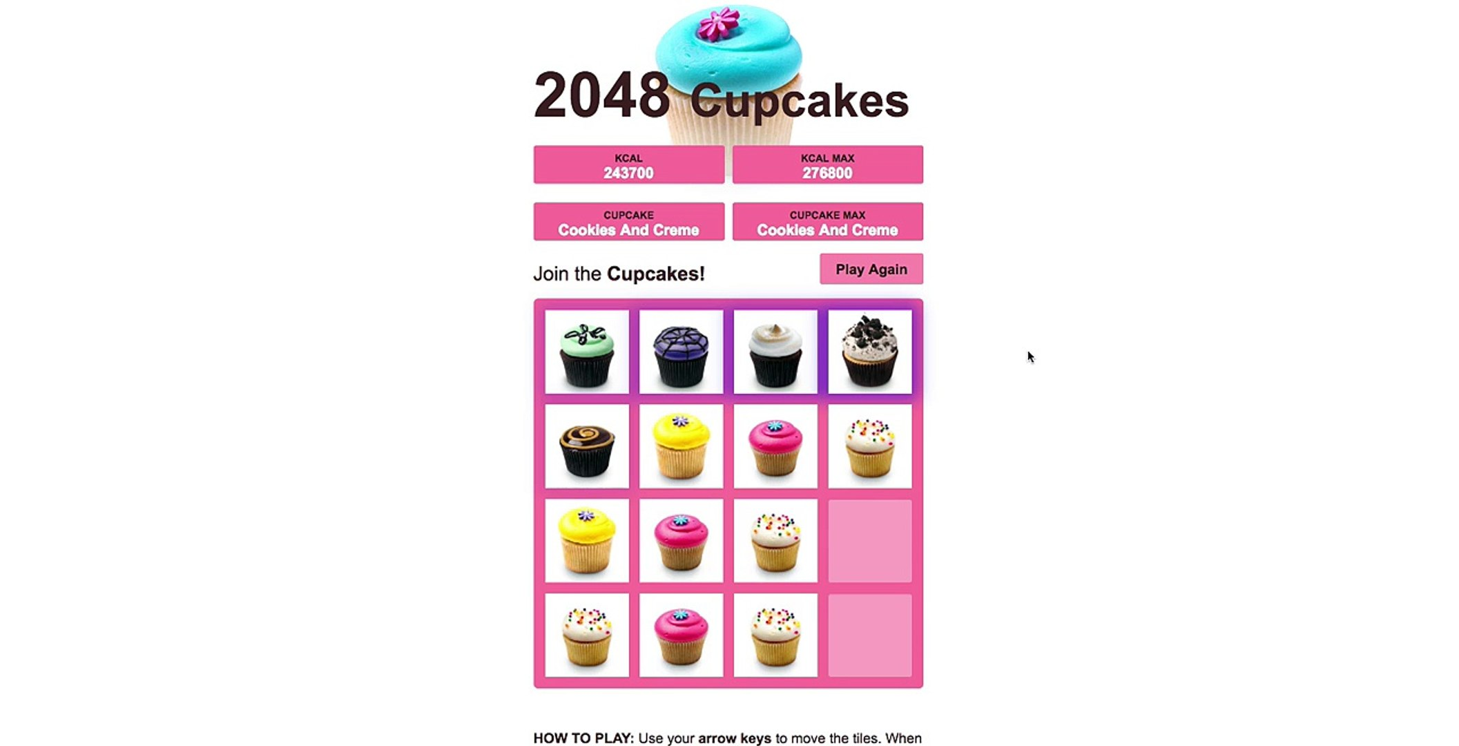 2048 Cupcakes Win Video Dailymotion