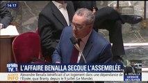 """Affaire Benalla: """"Continuez à être irresponsables"""", Ferrand s'en prend à l'opposition à l'Assemblée"""