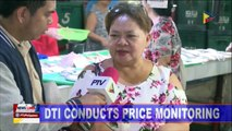 DTI conducts price monitoring