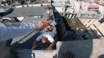 Du parkour sur les toits de Paris (vidéo)