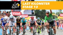 Last kilometer / Flamme rouge - Étape 13 / Stage 13 - Tour de France 2018