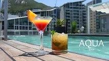 Is it Saturday yet?2 Cocktails for £10 @ Aqua Pool Bar on Saturdays!.......#instafood #instagood #travel #visitgibraltar #summervibes #cocktails
