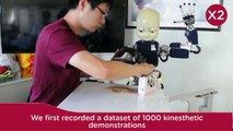 """""""iCub, clean the table!"""" A robot learning from demonstration approach using Deep Neural Networks"""