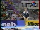 Elena GROSHEVA (RUS) vault - 1995 Sabae worlds EF