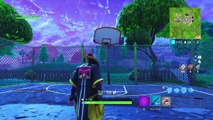 """Score a Basket on Different Hoops"" Locations Fortnite Week 2 Challenges Basketball Hoop Locations!"